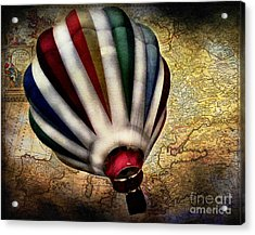 Le Tour Du Monde Acrylic Print by Colleen Kammerer