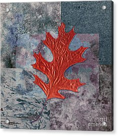 Leaf Life 01 - T01b Acrylic Print by Variance Collections
