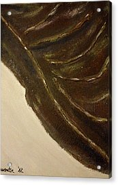 Leaf Acrylic Print by Montserrat Lopez Ortiz