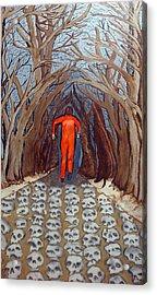 Leaving Eden Acrylic Print by Lisa Brandel
