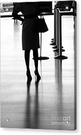 Leaving On A Jet Plane Acrylic Print by Rene Triay Photography