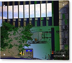 L'echelle Humaine Acrylic Print by Contemporary Luxury Fine Art