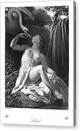 Leda And The Swan Acrylic Print by Granger