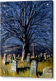 Left Alone Acrylic Print by Jack Skinner