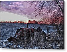 Left In The Cold Acrylic Print