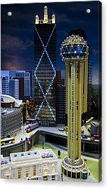 Legoland Dallas II Acrylic Print by Ricky Barnard