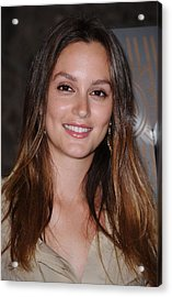 Leighton Meester At A Public Appearance Acrylic Print by Everett