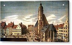 Leipzig: St. Thomas Church Acrylic Print by Granger