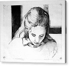 Lena Acrylic Print by Gun Legler