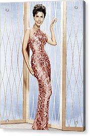 Lena Horne, Ca. 1950s Acrylic Print by Everett