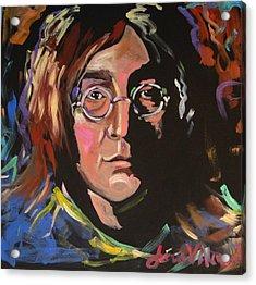 Lennon Acrylic Print by Jean Alexander