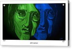 Lennon Acrylic Print by Mark Moore