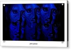 Lennon's World Acrylic Print by Mark Moore
