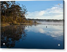Lenthalls Dam 03 Acrylic Print by David Barringhaus