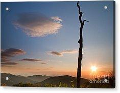 Lenticular Clouds Over Shenandoah National Park Acrylic Print by Dustin K Ryan
