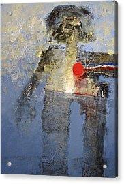 Leon Neepo Acrylic Print by Cliff Spohn