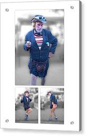 Leslie Cochran Collage 1 - 5x7 Aspect Acrylic Print