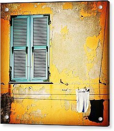 Let It All Hang Out #italy #wall Acrylic Print