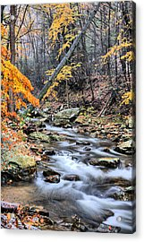 Let It Snow Acrylic Print by JC Findley