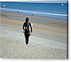 Let The Sea Set Me Free Acrylic Print