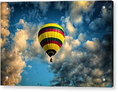 Let Us Take A Ride Acrylic Print by Gary Smith
