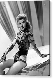 Lets Be Happy, Vera-ellen, 1957 Acrylic Print