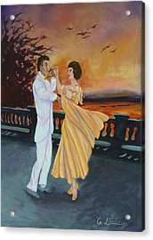 Let's Dance Acrylic Print