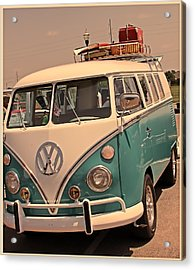 Let's Go Surf'in Acrylic Print by Tony Grider