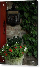 Letters From Savannah Acrylic Print by Leslie Lovell