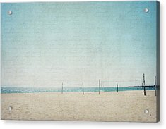 Acrylic Print featuring the photograph Letters From The Beach by Lisa Parrish