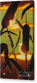 Acrylic Print featuring the painting Levity Of Light by Janet McDonald