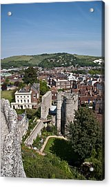 Lewes East Sussex Acrylic Print by Dawn OConnor
