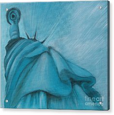 Liberty Acrylic Print by Annemeet Hasidi- van der Leij