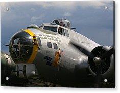 Liberty Belle B17 Bomber Acrylic Print