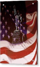 Liberty For All Acrylic Print by Steve K