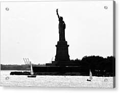 Liberty Island Acrylic Print by Artistic Photos