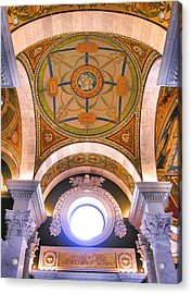 Library Of Congress I Acrylic Print by Steven Ainsworth