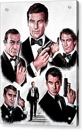 Licence To Kill  Digital Acrylic Print by Andrew Read