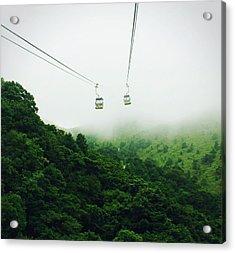 Life Beautiful Adventure Acrylic Print by W-anshu