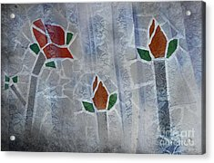 Life Behind The Veil Acrylic Print by The Stone Age