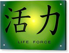 Life Force Acrylic Print
