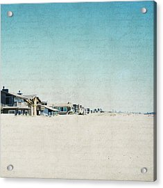 Acrylic Print featuring the photograph Letters From The Beach House - Square by Lisa Parrish
