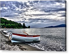 Acrylic Print featuring the photograph Lifeboat by Scott Holmes