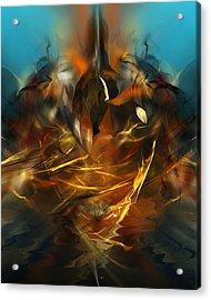 Lift Off Acrylic Print by David Lane