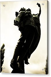 Lifted Up To Heaven Acrylic Print by Michael Knight