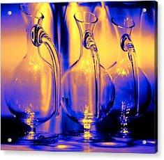 Light And Colors Play I Acrylic Print by Jenny Rainbow