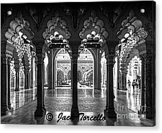 Acrylic Print featuring the photograph Light And Symmetry by Jack Torcello
