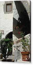Light At The Museum Acrylic Print by Therese Alcorn