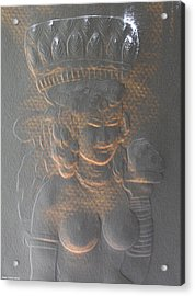 Light Behind Relief Art Acrylic Print by Suhas Tavkar