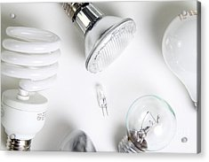 Light Bulbs Acrylic Print